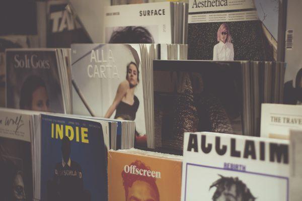本雑誌が売られている画像